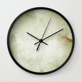 Lines and Triangles Wall Clock