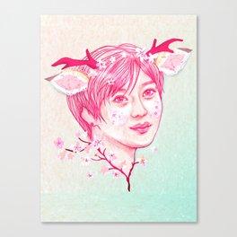 Fawn Taem Canvas Print