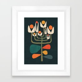 Retro botany Framed Art Print