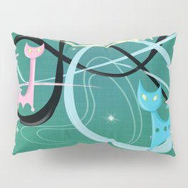 Atomic Rocket Cats In Space Pillow Sham