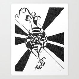 The Fertile Mind by Riendo Art Print