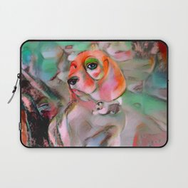 The Offended Beagle Laptop Sleeve