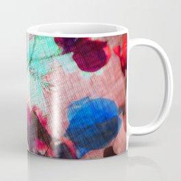 burlap pastel petals Coffee Mug