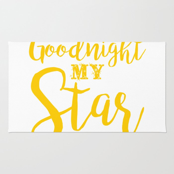 Goodnight my star Rug