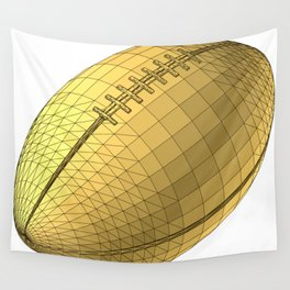 rugby ball Wall Tapestry