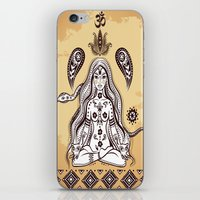 om iPhone & iPod Skins featuring om by flamenco72