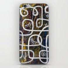maze -snow day iPhone & iPod Skin