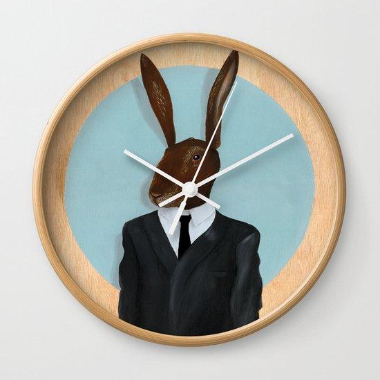 David Lynch   Rabbit Wall Clock