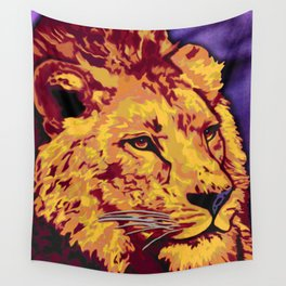 Lion Art Wall Tapestry