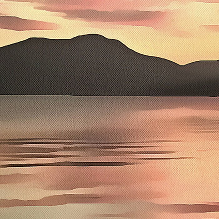 Sunset Reflected On Water Leggings