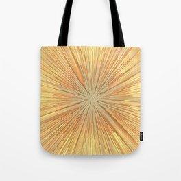 Burst (ochre) Tote Bag
