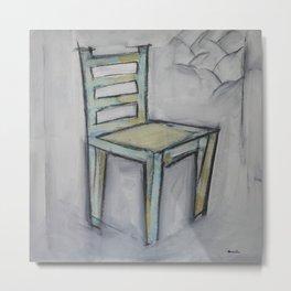 The Artist's Chair Metal Print