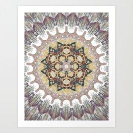 Cosmic Reflection Mandala Art Print