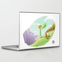 little prince Laptop & iPad Skins featuring LITTLE PRINCE by David Pavon