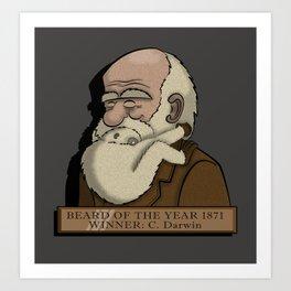 Beard Of The Year Art Print