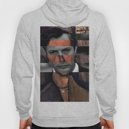 "Modigliani ""Portrait of a Poet"" & Marcello Mastroianni Hoody"