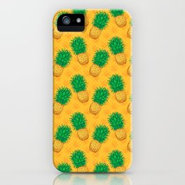 Cannabis Collection: Green & Gold iPhone Case