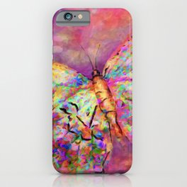 Ascending Butterfly iPhone Case