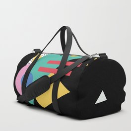 Memphis pattern 47 - 80s / 90s Retro Duffle Bag