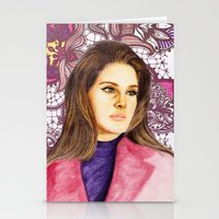 ultraviolence Stationery Cards featuring LANA II by Share_Shop