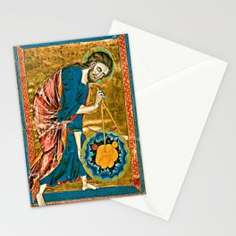 God the Geometer Stationery Cards
