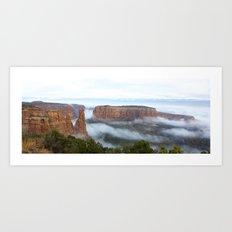 Cloud Flow Art Print