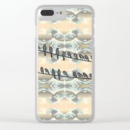 Serenity Flight Clear iPhone Case