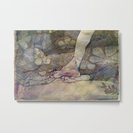 Unbearable Itch Metal Print
