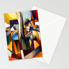 Albert Gleizes Cubist Landscape Stationery Cards