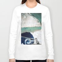 surf Long Sleeve T-shirts featuring Surf by Bella Blue Photography