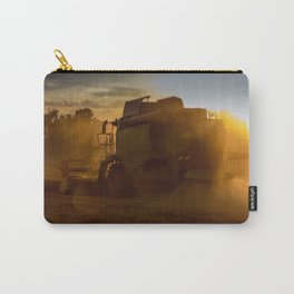 Combine harvesters in use Carry-All Pouch