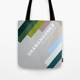 The colors of climbing spots - SHAWANGUNKS Tote Bag