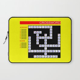 Crossword Laptop Sleeve