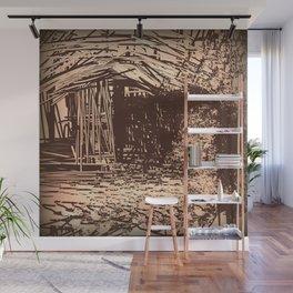 Hidden Shack Wall Mural