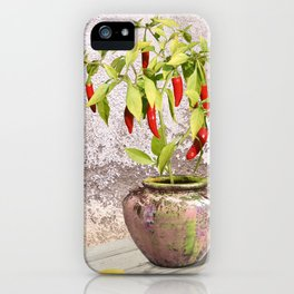 Thai Peppers iPhone Case