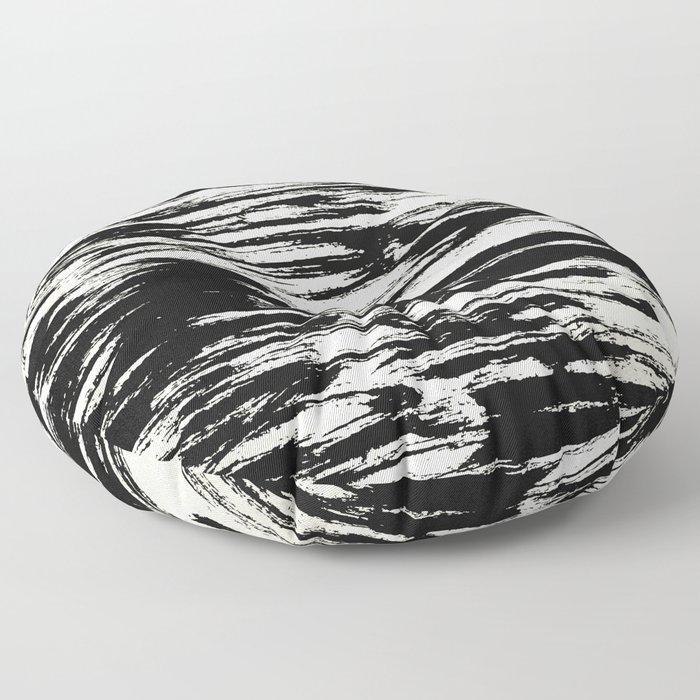 Brush Stripe 2 Floor Pillow