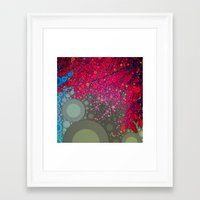 be happy Framed Art Prints featuring Happy by Olivia Joy StClaire