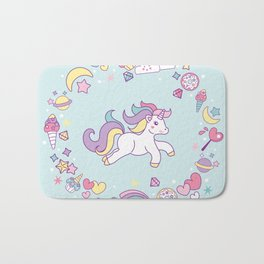 Unicorn Dreams Bath Mat