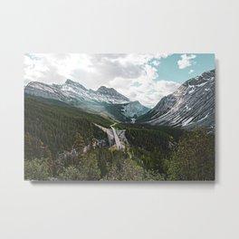 Icefields Parkway, Alberta Metal Print