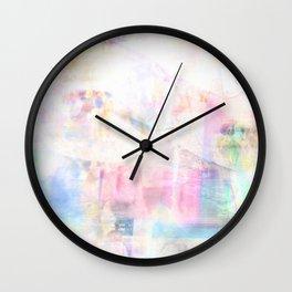Summer Pastel Wall Clock