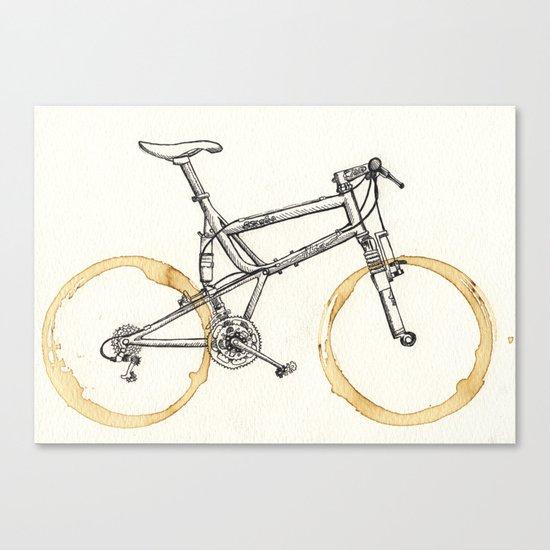 Decaf-Coffee Wheels #00 Canvas Print