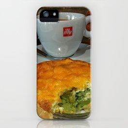 Macchiato and Quiche iPhone Case