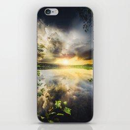 Peekaboo II iPhone Skin
