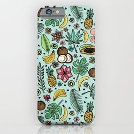 Tropical Fiesta iPhone Case
