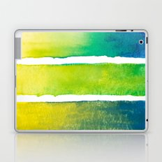 Tropical Earth Abstract Watercolor Laptop & iPad Skin
