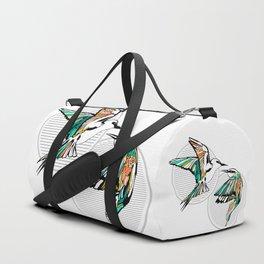 Art Deco Birds Duffle Bag