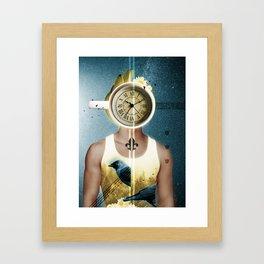 Dream of Coffee / Halftones Framed Art Print