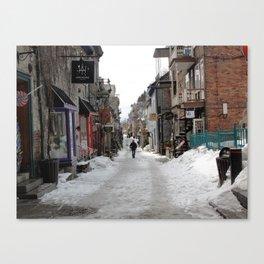 La Rue Canvas Print