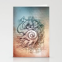 seashell Stationery Cards featuring Seashell by Irina Vinnik