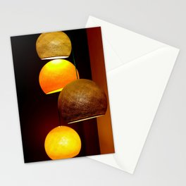 Colorful, playful lights Stationery Cards